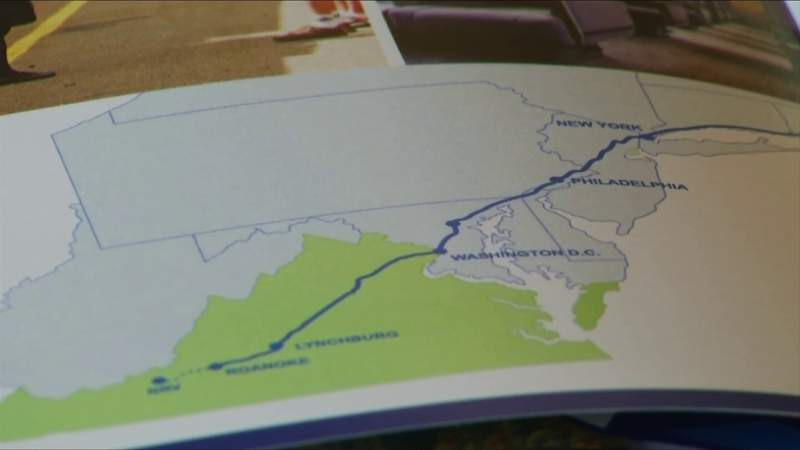 The New River Valley is a step closer to an Amtrak station