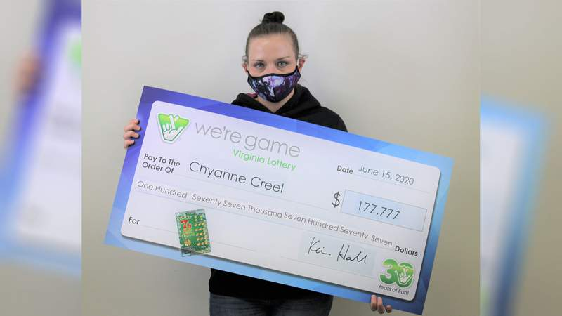 Chyanne Creel won $177,777 playing Lucky 7s Tripler