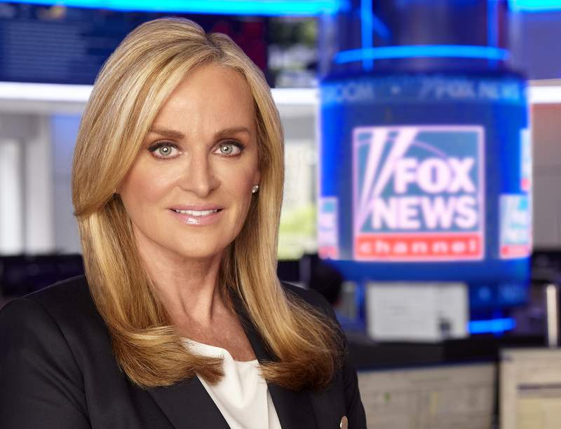 This 2018 image released by Fox News Channel shows CEO of Fox News Media Suzanne Scott, who has extended her contract with the news organization. Scott, who joined Fox News Channel as a programming assistant when the network launched in 1996, has been CEO of Fox News Media since 2018. (Fox News Channel via AP)