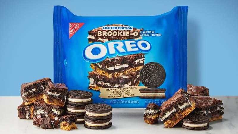 "Oreo's new ""Brookie-O"" flavor."