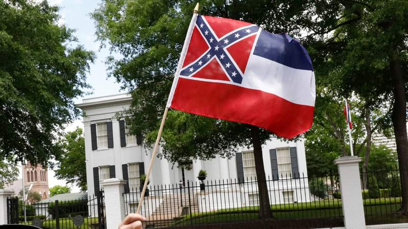 Walmart stops selling Mississippi flag featuring Confederate battle flag in design