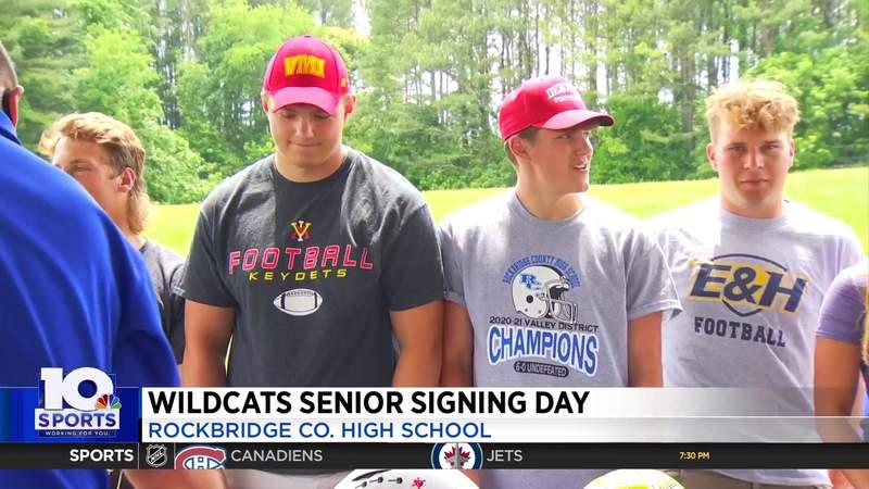 Rockbridge County signing day