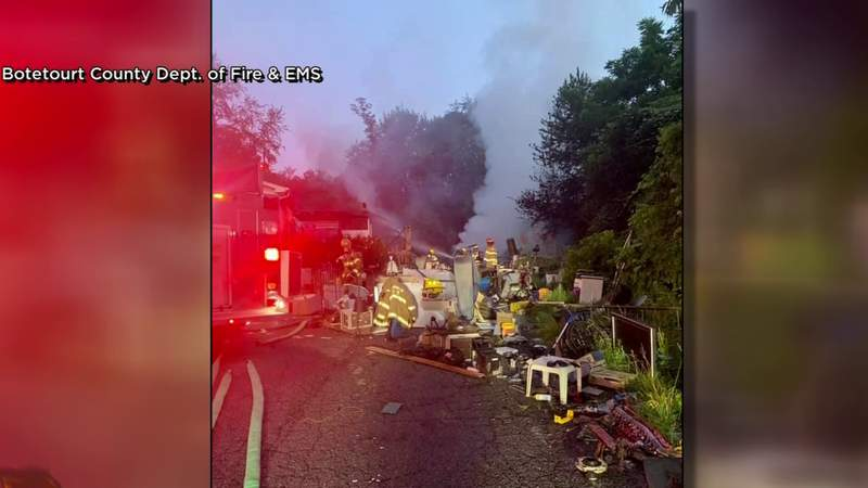 Investigation underway after Botetourt County house fire