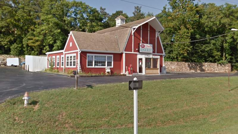 Jerry's Family Restaurant in Vinton. Image captured August 2016.