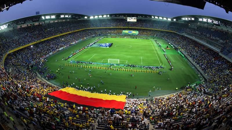 The gold medal match of the Tokyo Olympics men's soccer tournament will take place at International Stadium Yokohama.
