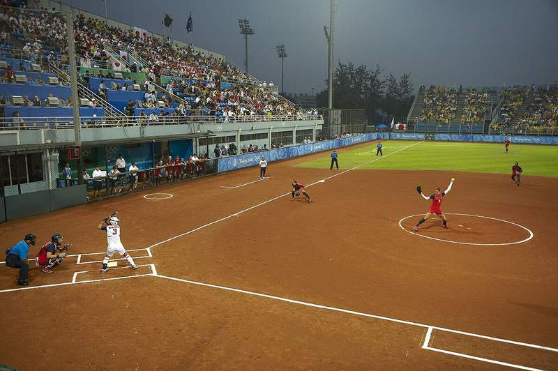 Japan defeated the United States 3-1 in the softball gold medal game at the 2008 Olympics.