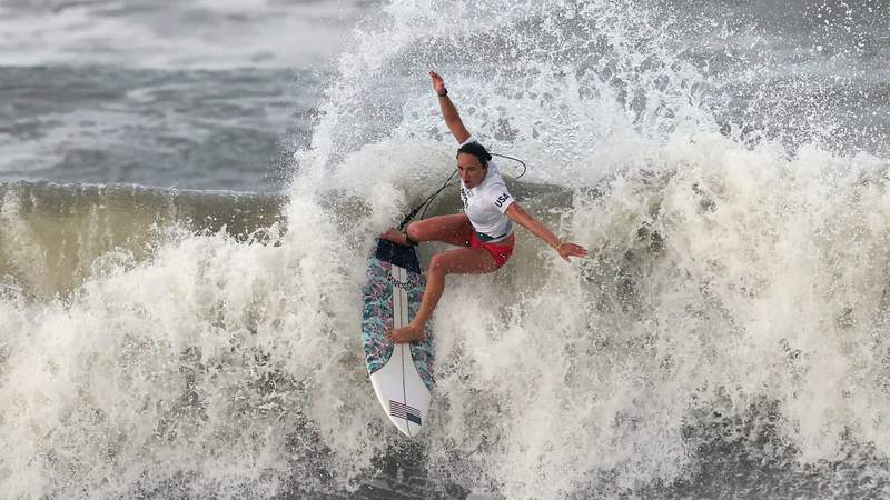 Carissa Moore rides the wave to Olympic gold.