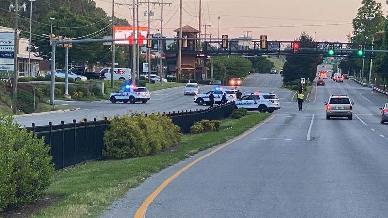 Part of Wards Road is closed in Lynchburg on June 2, 2020