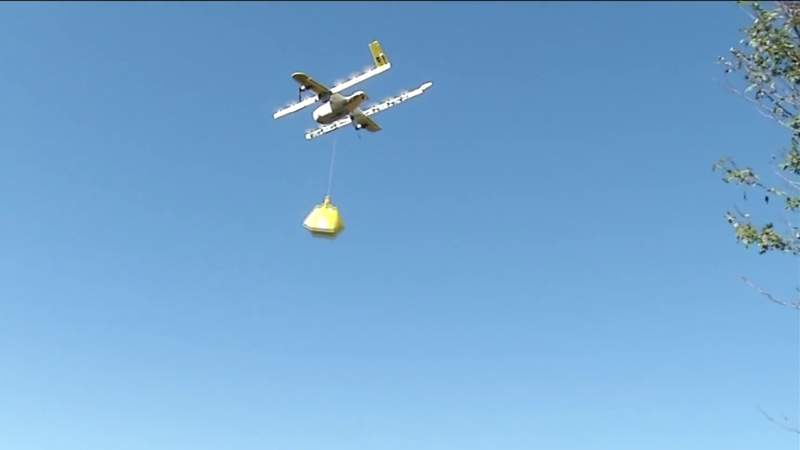 Drone delivery company expands during coronavirus outbreak