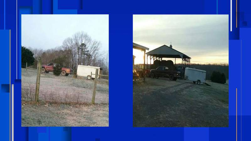 Authorities are searching for a man they say tried to steal an ATV from a Bedford County home