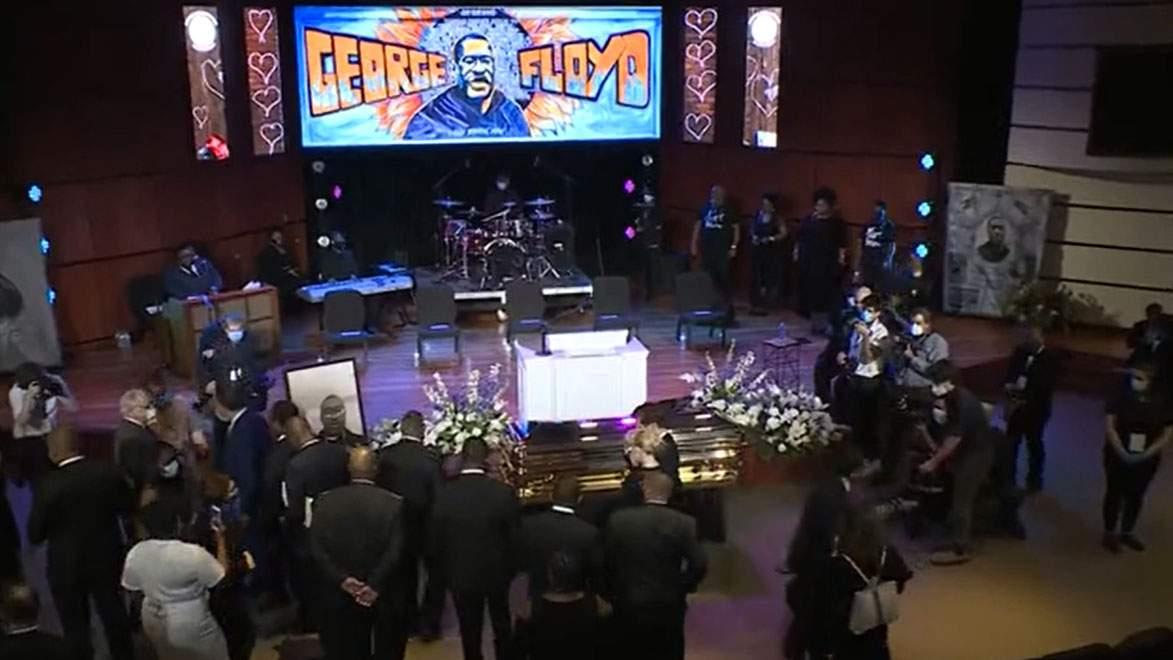 Watch George Floyd Memorial Service In Minneapolis
