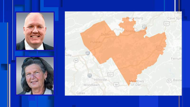 Derek Kitts and Tara Orlando are vying for the Democratic nomination in the House of Delegates District 7 on June 8, 2021.