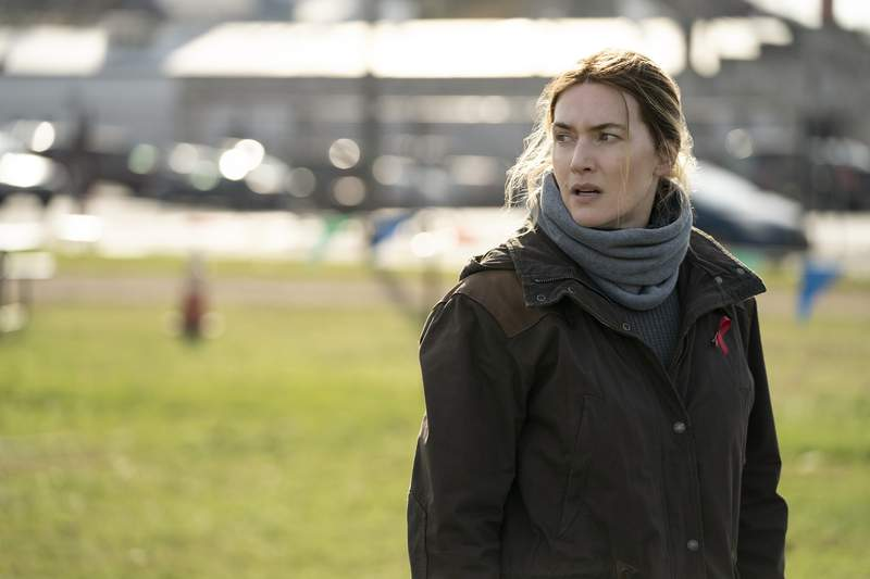 """Kate Winslet in """"Mare of Easttown."""""""