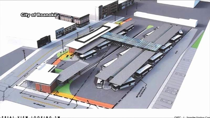 A look at plans for temporary bus station in Roanoke