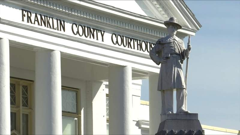 Here's what's next for the Franklin County Confederate monument