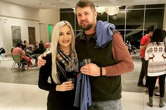 Megan Montgomery and Jason McIntosh in 2019. (Courtesy: NBC News)