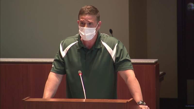 Loudoun County, Virginia teacher speaks against proposed transgender rules