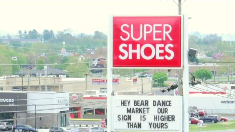 Sign warn brings money to local businesses in Christiansburg