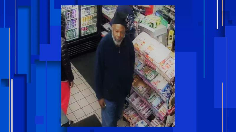 Surveillance image of the person Roanoke Police said was involved in a robbery on Dec. 15, 2020