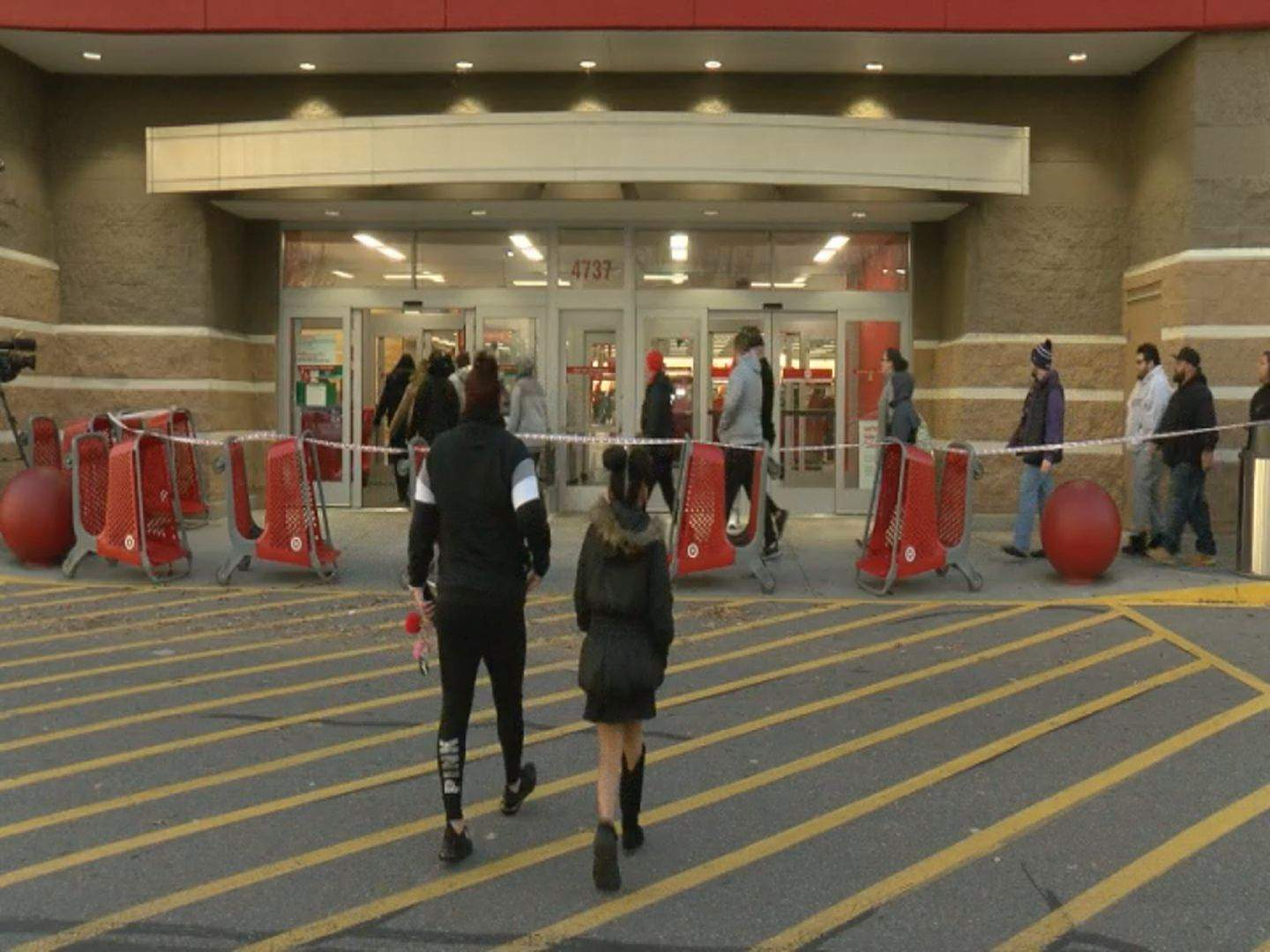 Tvs Hot Item Many People In Search Of As Black Friday Shopping Begins