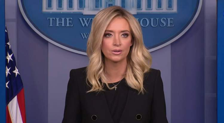 White House briefing with press secretary Kayleigh McEnany