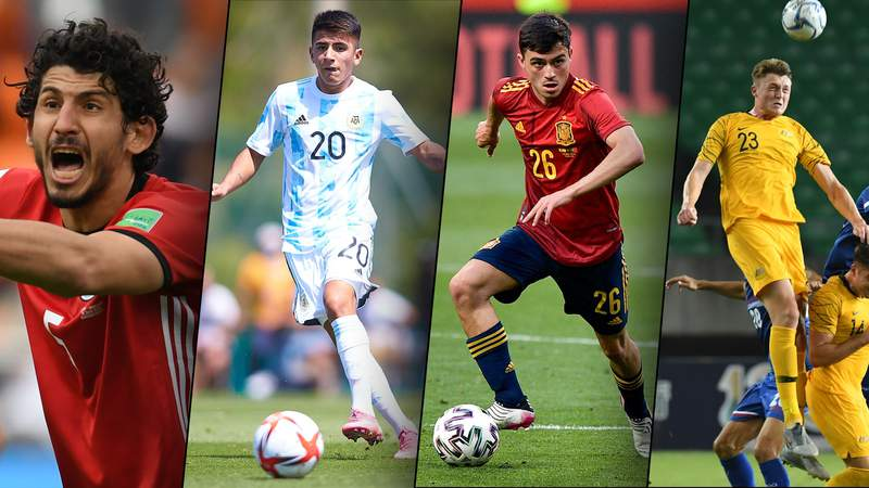 Take a closer look at the rising stars and established players taking part in Group C of the Tokyo Olympics men's soccer tournament, which includes the gold medal favorites.