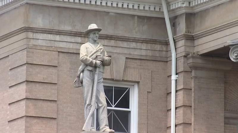 Roanoke County judge order Confederate statue to be removed from Salem
