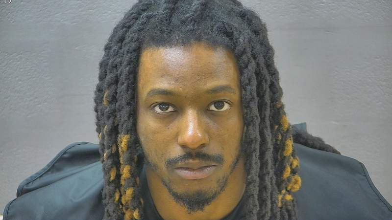 Omar Pannell, 27, of Lynchburg, is facing charges for possession of marijuana with intent to distribute, reckless driving, no tags displayed, driving on a revoked license, obstruction of justice, felony eluding, littering, three counts of hit-and-run and five counts of failing to stop for a stop sign.