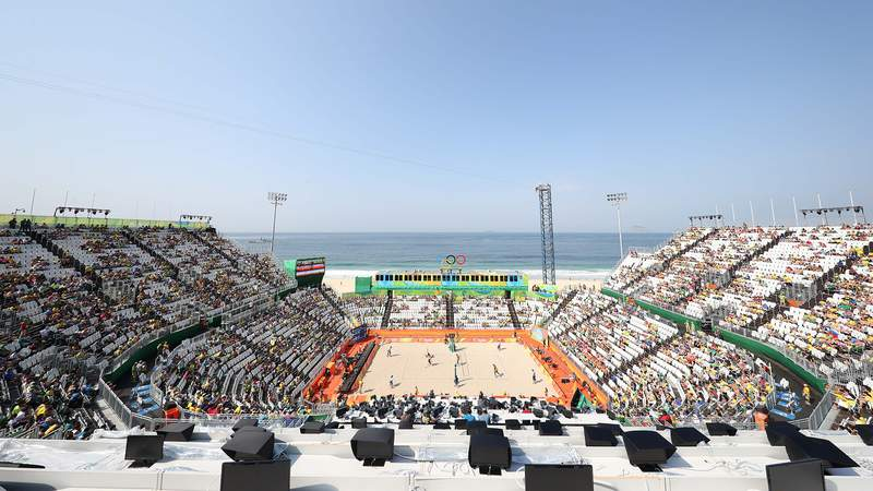 The full beach volleyball schedule for the Tokyo Olympics is here.