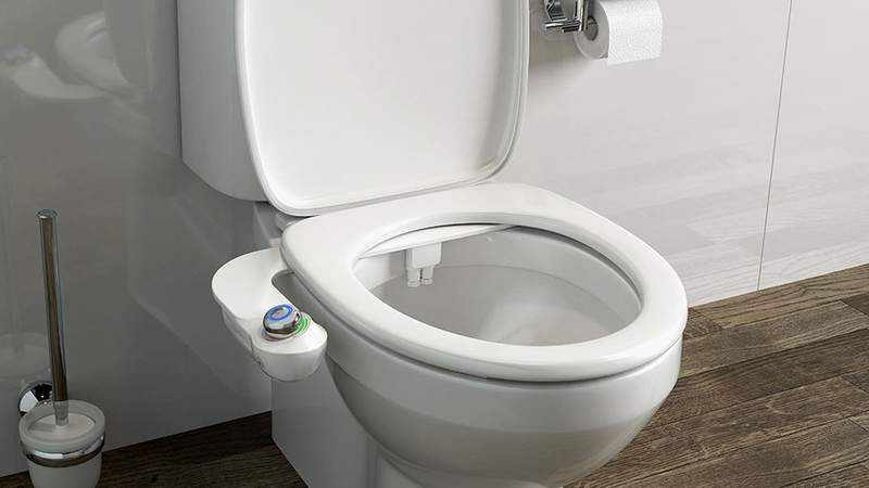 This easy to install bidet will be a game changer for the new year.