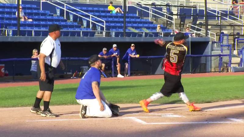 Gun and Hoses charity softball game in Salem