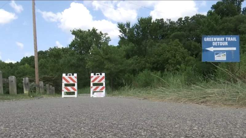 Repairs to Roanoke River Greenway could take months
