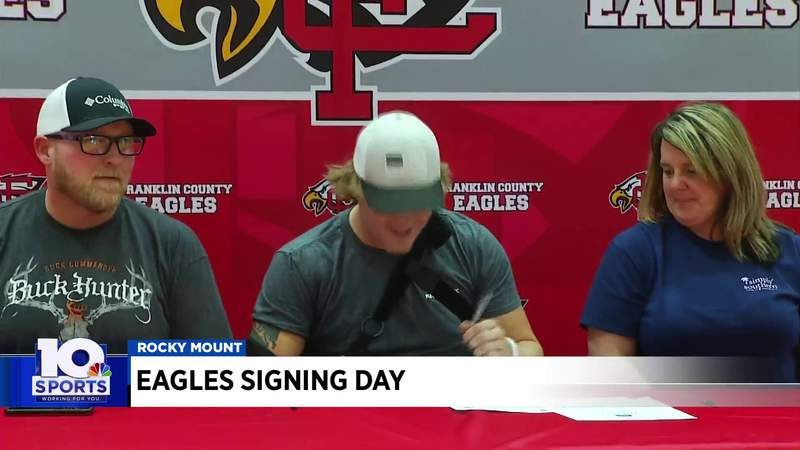 Movin' on Up: Local athletes put pen to paper on National Signing Day