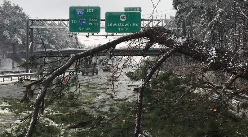 Interstate 95 Henrico County - Feb. 13, 2021