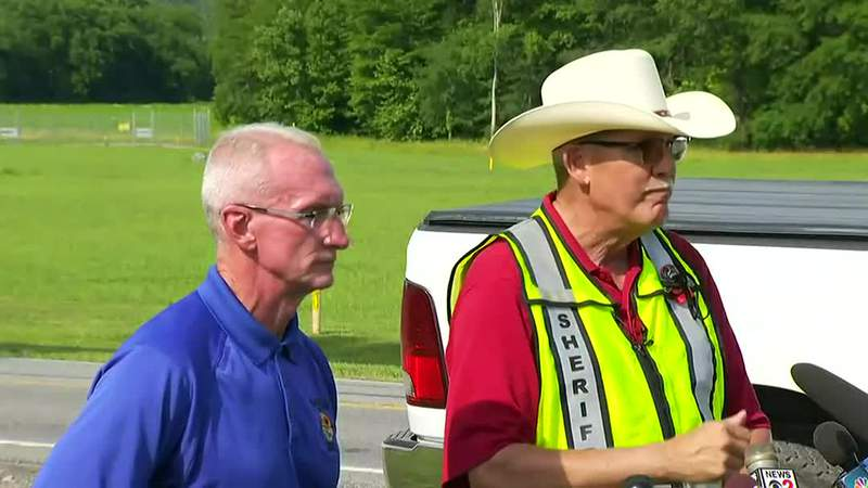 Rockingham County, NC Emergency Services Director Rodney Cates and Sheriff Sam Page