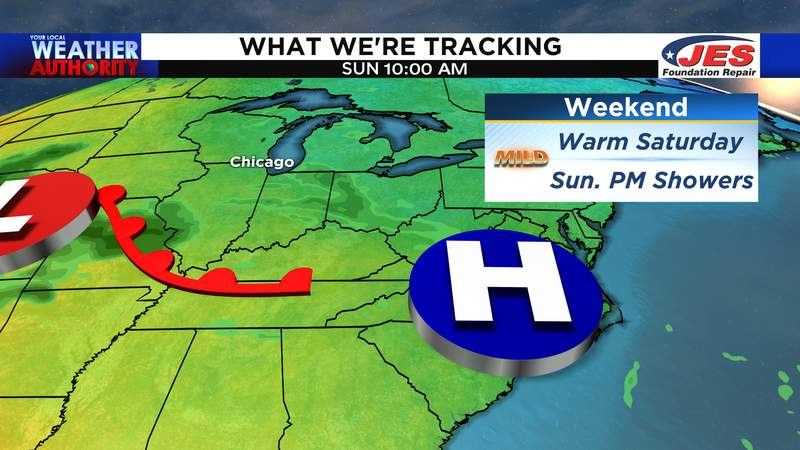 What we're tracking for the weekend of 5/15 and 5/16/2021