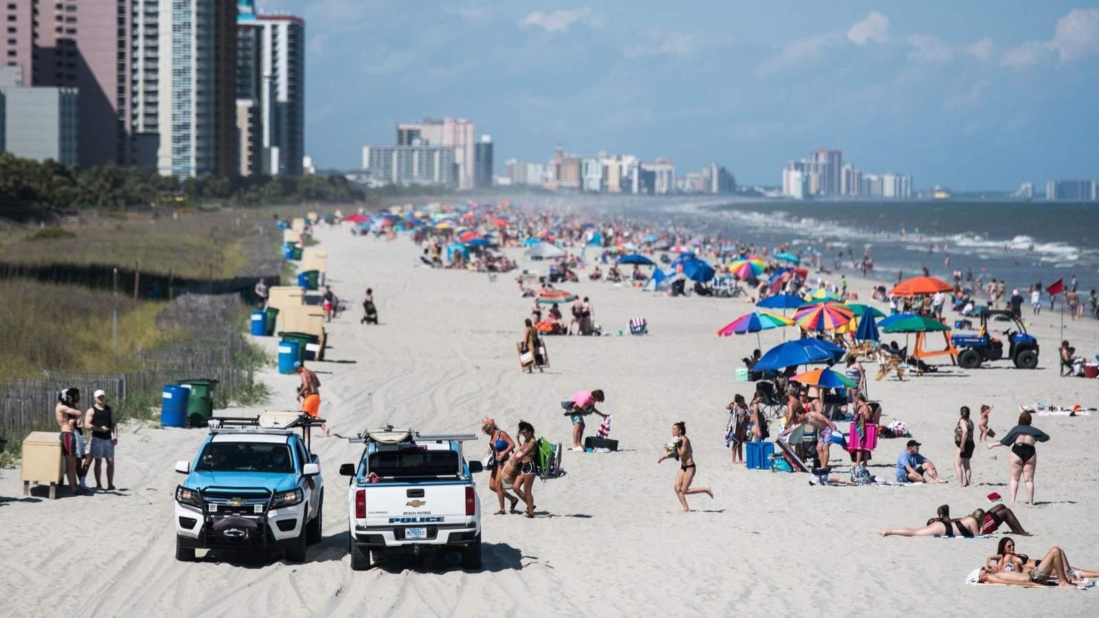 Roanoke area coronavirus cases linked to Myrtle Beach nearly double overnight - WSLS 10