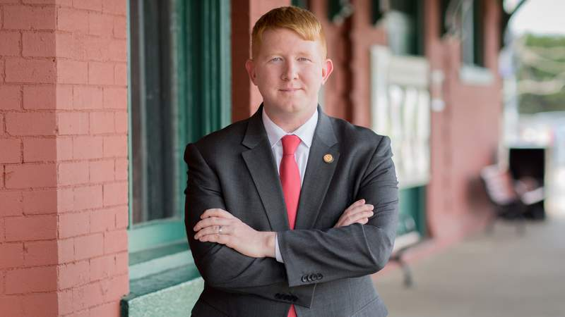 Del. Lee Carter announced on Jan. 1, 2021, that he's running for governor of Virginia.