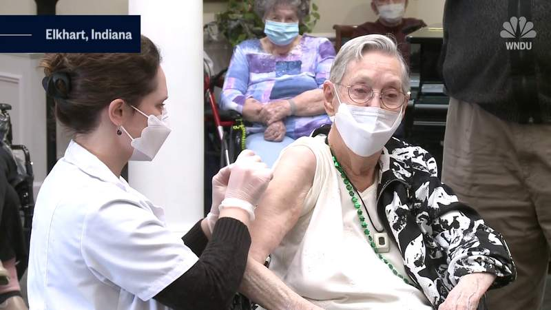 105-year-old Indiana woman lives through second pandemic