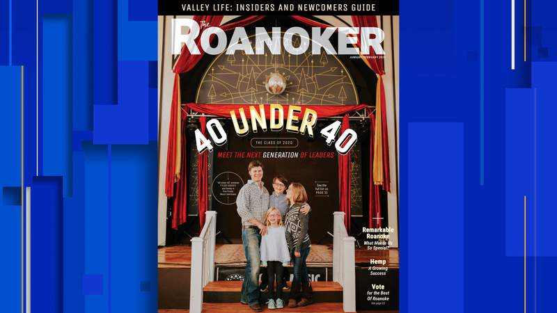 Cover of Roanoker 40 Under 40 issue