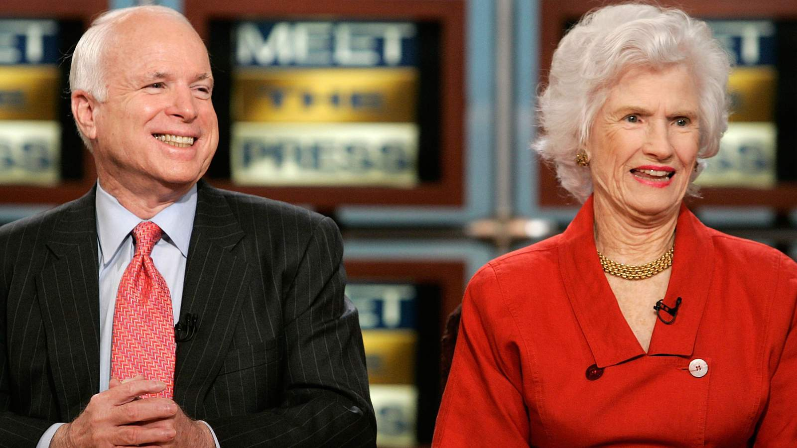 The mother of U.S. Sen. John McCain, whose feisty personality became her son's secret weapon during his 2008 presidential campaign, has died. Roberta Wright McCain was 108.