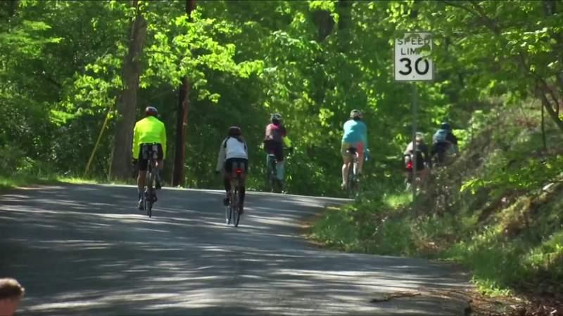 Participants train for upcoming Roanoke Ironman