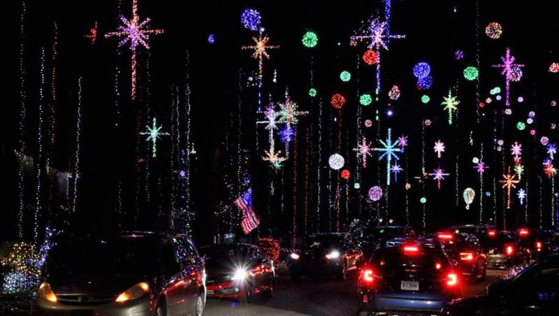 Willie Johnson took this photo of the Christmas lights on Girvin Road. See them before they're gone!