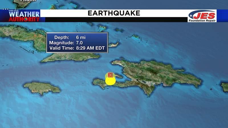 Strong earthquake hits Haiti Saturday morning