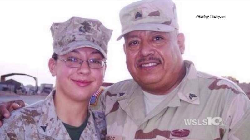 Meet Marley and Victor Campos, the Giles County father and daughter who simultaneously served in Iraq