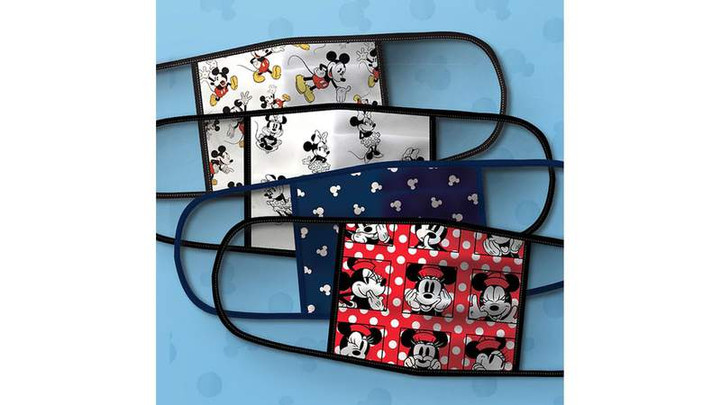 Just some of the face masks Disney is selling.