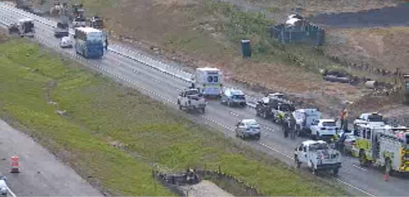I-81 crash closes multiple lanes