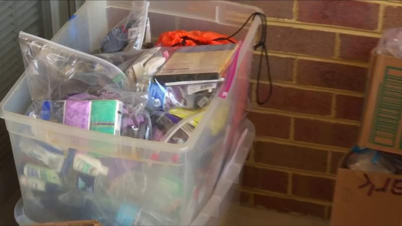 Miriam's House distributes blessing bags to those in need