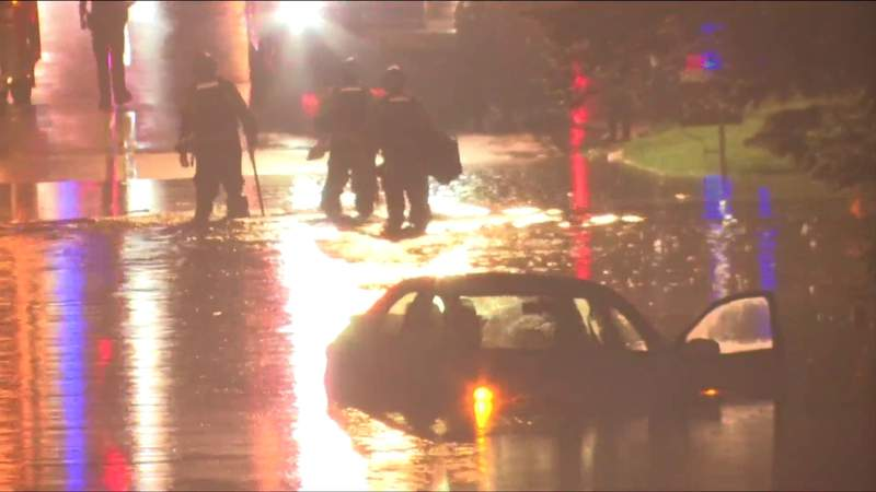People return home after flooding at Lynchburg apartment complex
