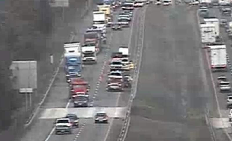 Drivers can expect delays on I-81 South in Roanoke County on Thursday evening.